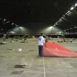 Nettoyage exposition