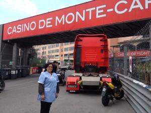 nettoyage stand grand prix Monaco